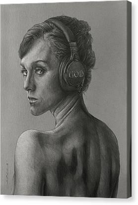 Listen 15 Canvas Print by Brent Schreiber