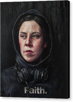 Listen 23 Canvas Print