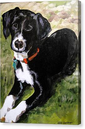 Little Abby Canvas Print