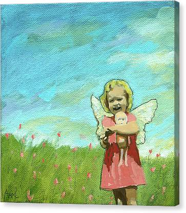Canvas Print - Little Angel by Linda Apple