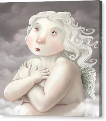 Little Angel Canvas Print