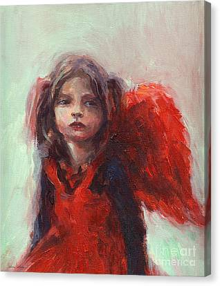 Little Angel Canvas Print by Svetlana Novikova