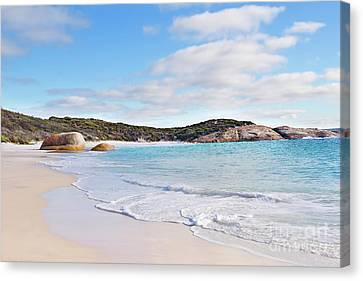 Canvas Print featuring the photograph Little Beach, Australia by Ivy Ho