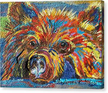 Little Bear Canvas Print by Anderson R Moore