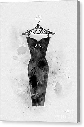 Little Black Dress Canvas Print