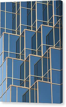 Little Boxes Canvas Print by Elisabeth Van Eyken
