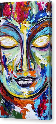 Little Buddha Canvas Print