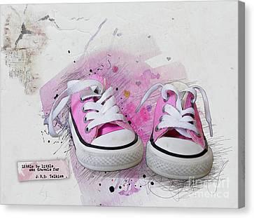 Little By Little Canvas Print by Gillian Singleton