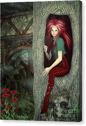 Little Elf's Refuge Canvas Print
