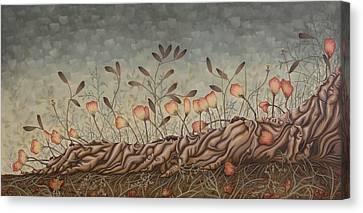 Little Gods Canvas Print by Judy Henninger