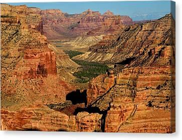 Little Grand Canyon Sunrise Canvas Print