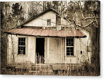 Little House From Yesteryear #2 Canvas Print