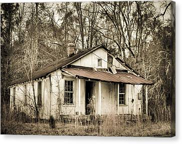 Little House From Yesteryear Canvas Print