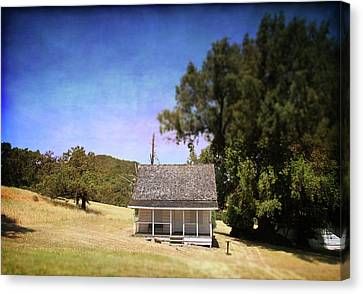 Little House Canvas Print by Laurie Search