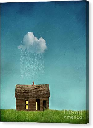 Canvas Print featuring the photograph Little House Of Sorrow by Juli Scalzi