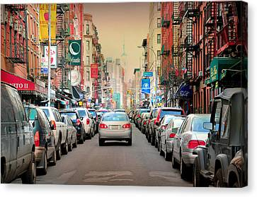 Little Italy Manhattan Canvas Print by Diana Angstadt