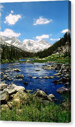 Little Lake Canvas Print by Gary Brandes