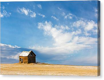 Little Old House Canvas Print