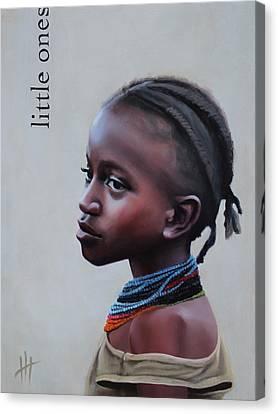 Little Ones Canvas Print by Hannah Harris