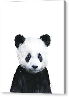 Fauna Canvas Print - Little Panda by Amy Hamilton
