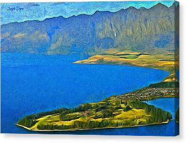 Little Paradise - Da Canvas Print by Leonardo Digenio