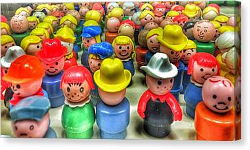 Canvas Print - Little People by Jame Hayes