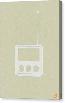 Little Radio Canvas Print by Naxart Studio