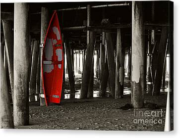 Little Red Boat IIi Canvas Print by Clayton Bruster