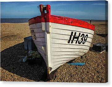 Little Red Boat Canvas Print by Martin Newman