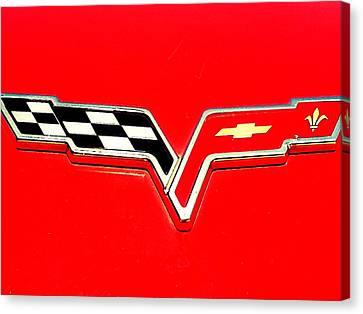 Little Red Corvette Canvas Print by Kevin D Davis