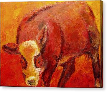 Little Red Canvas Print by Marie Hamby