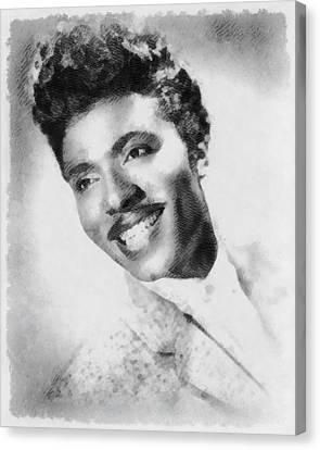 Little Richard, Singer Canvas Print by John Springfield