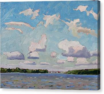 Little Rideau Morning Canvas Print by Phil Chadwick