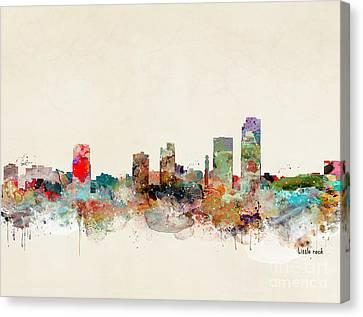 Little Rock Arkansas Canvas Print