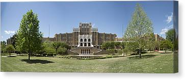 Historic Site Canvas Print - Little Rock Central High Panoramic by Stephen Stookey