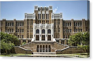 Little Rock Central High Canvas Print by Stephen Stookey