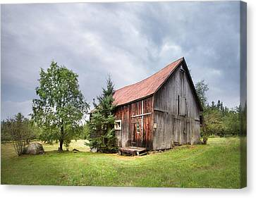 Little Rustic Barn, Adirondacks Canvas Print