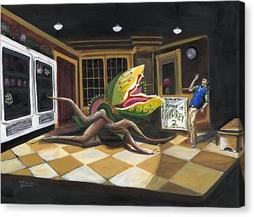 Little Shop Of Horrors Canvas Print