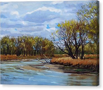 Little Sioux April Canvas Print by Bruce Morrison