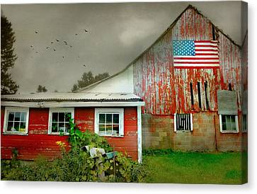 Litchfield County Canvas Print - Little Slice Of Americana by Diana Angstadt