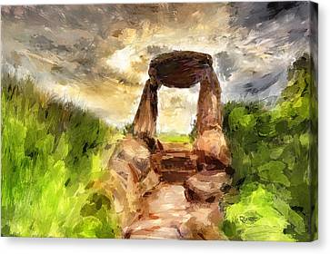 Little Stonehenge Canvas Print
