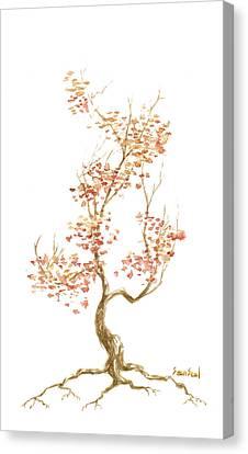 Little Tree 52 Canvas Print by Sean Seal