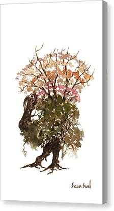 Little Tree 67 Canvas Print by Sean Seal