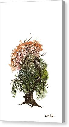 Little Tree 71 Canvas Print by Sean Seal