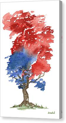 Little Zen Tree 292 Canvas Print