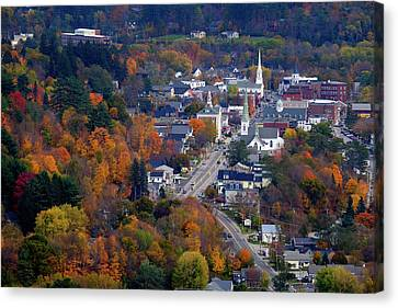 Littleton Autumn Canvas Print