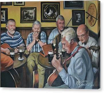 Live At Matt Malloy's Pub Canvas Print