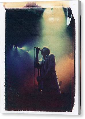 Live In Concert - Polaroid Image Transfer Canvas Print by Matt Plyler