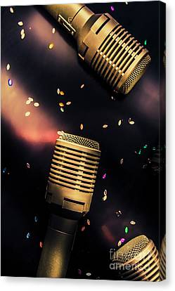 Equipment Canvas Print - Live Musical by Jorgo Photography - Wall Art Gallery