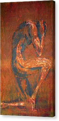 Canvas Print featuring the painting Live Rust by Jarko Aka Lui Grande